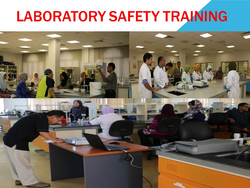 ​Laboratory Safety Training for Chemistry Department, IIUM CFS Gambang Campus