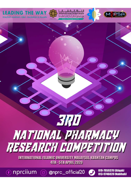 National Pharmacy Research Competion (NPRC) 2020