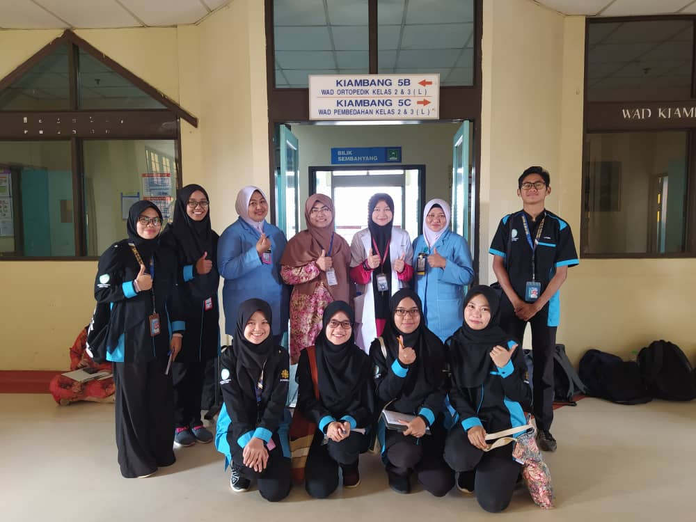 [Stoma Care] Discovery of Sub-specialization in Nursing: Visit to Hospital Tengku Ampuan Afzan (HTAA)