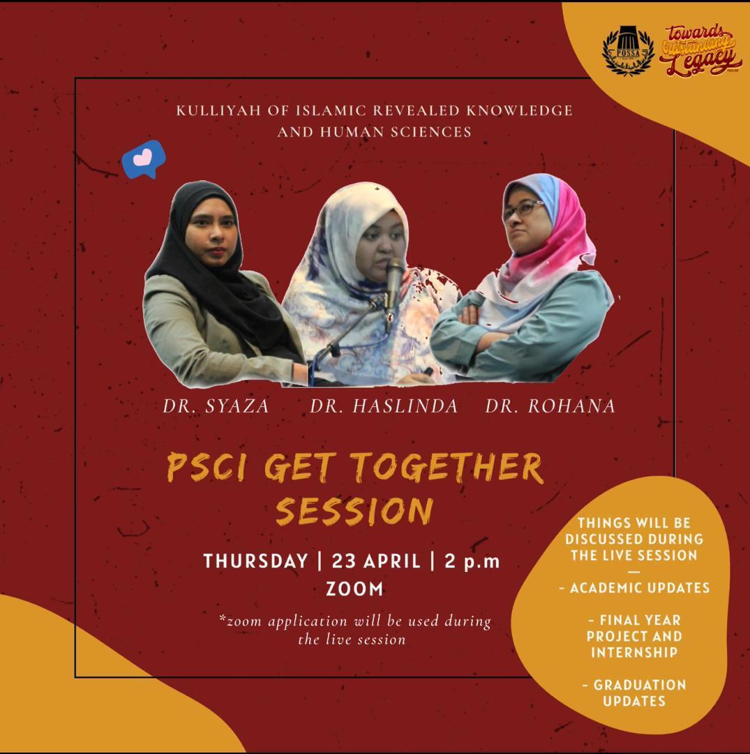 PSCI Get Together Session