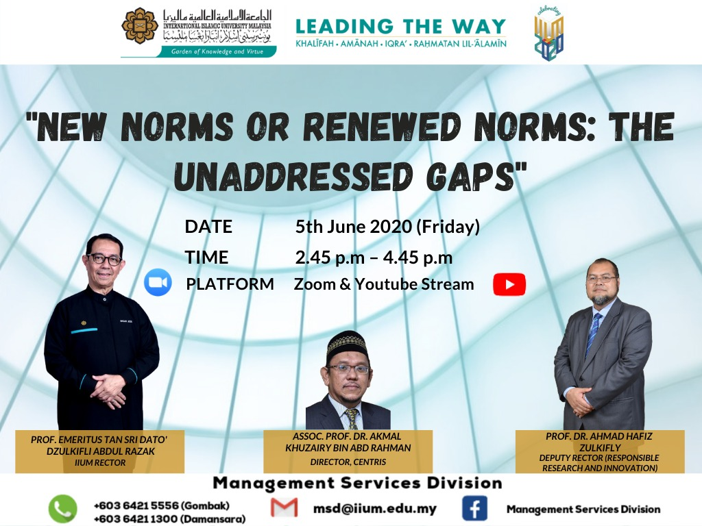 New Norms or Renewed Norms: The Unaddress Gaps