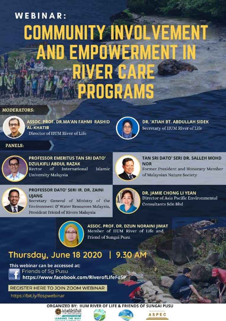 Webinar: Community Involvement and Empowerment in River Care Programs