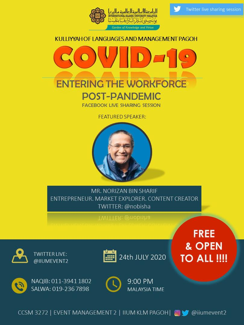 COVID-19 Entering the workforce post-pandemic