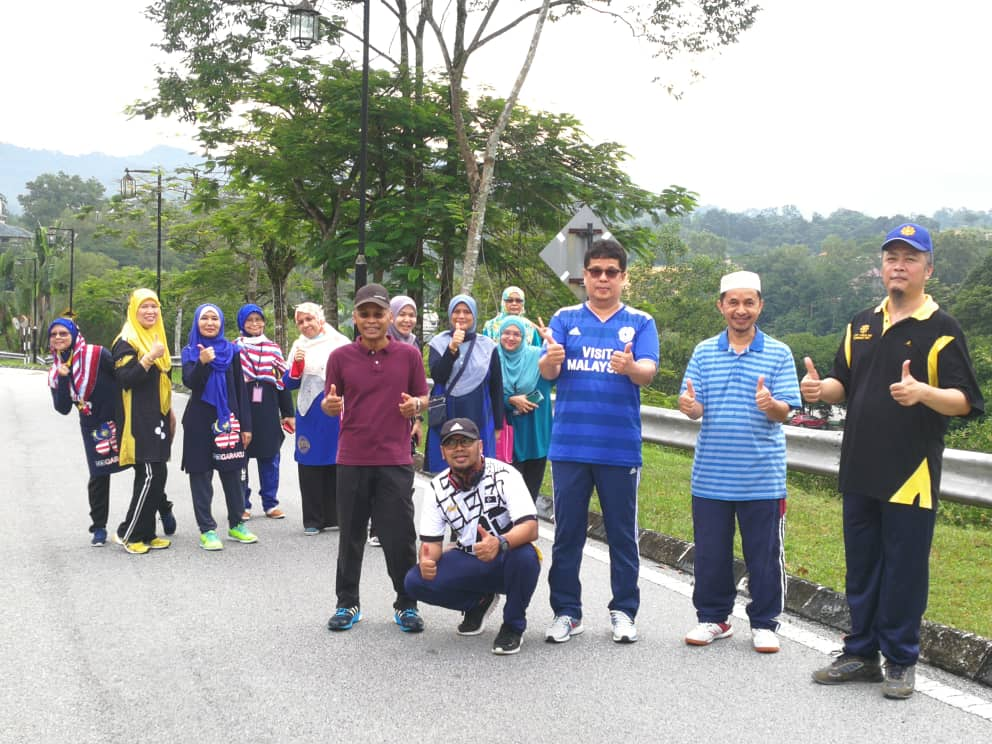 CELPAD BRISK WALK AROUND IIUM GOMBAK CAMPUS