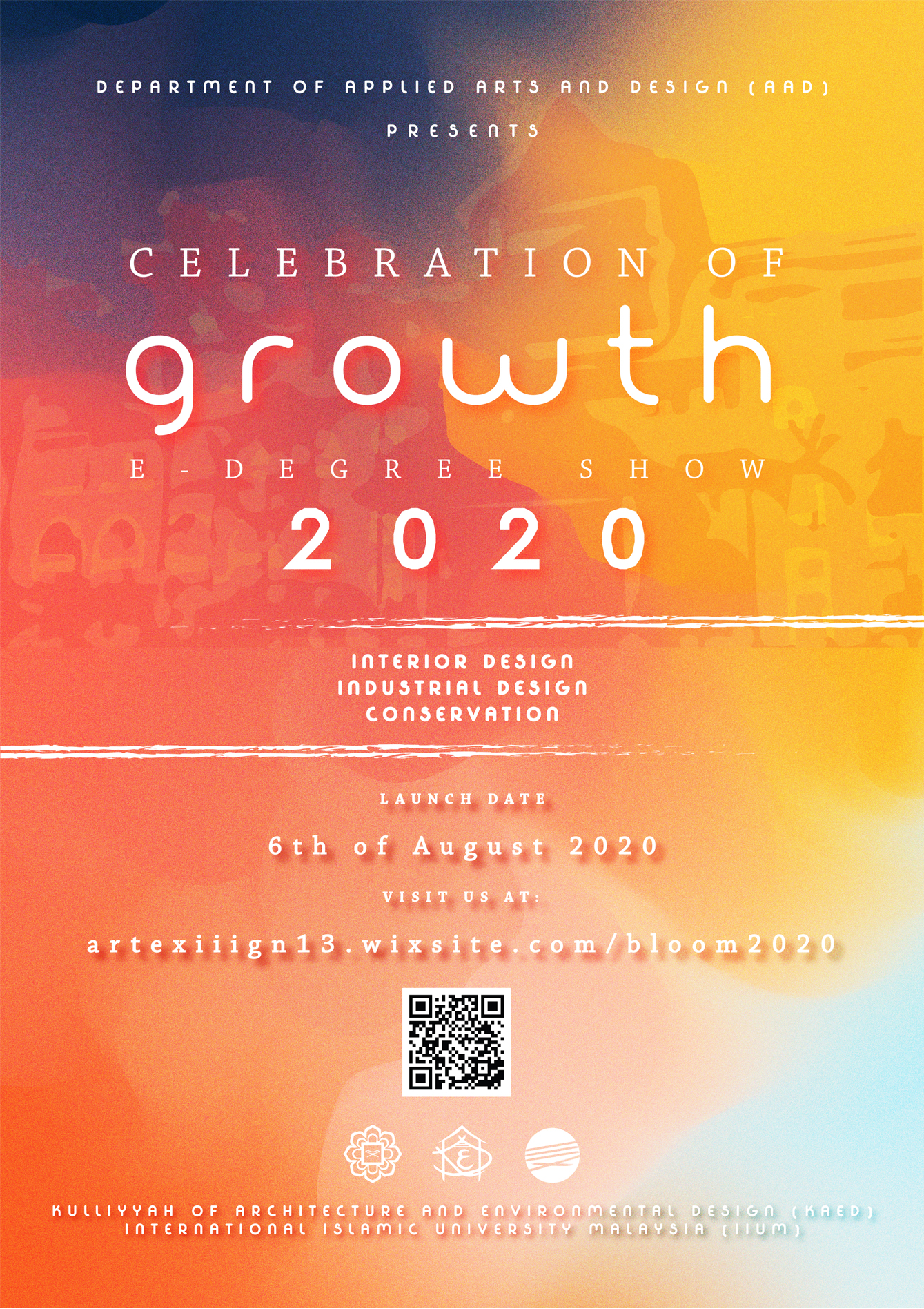 AAD E-Degree Show 2020  - Celebration of Growth