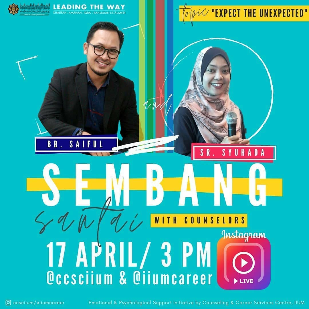 Instagram Live Session - Sembang Santai with Counselors 3