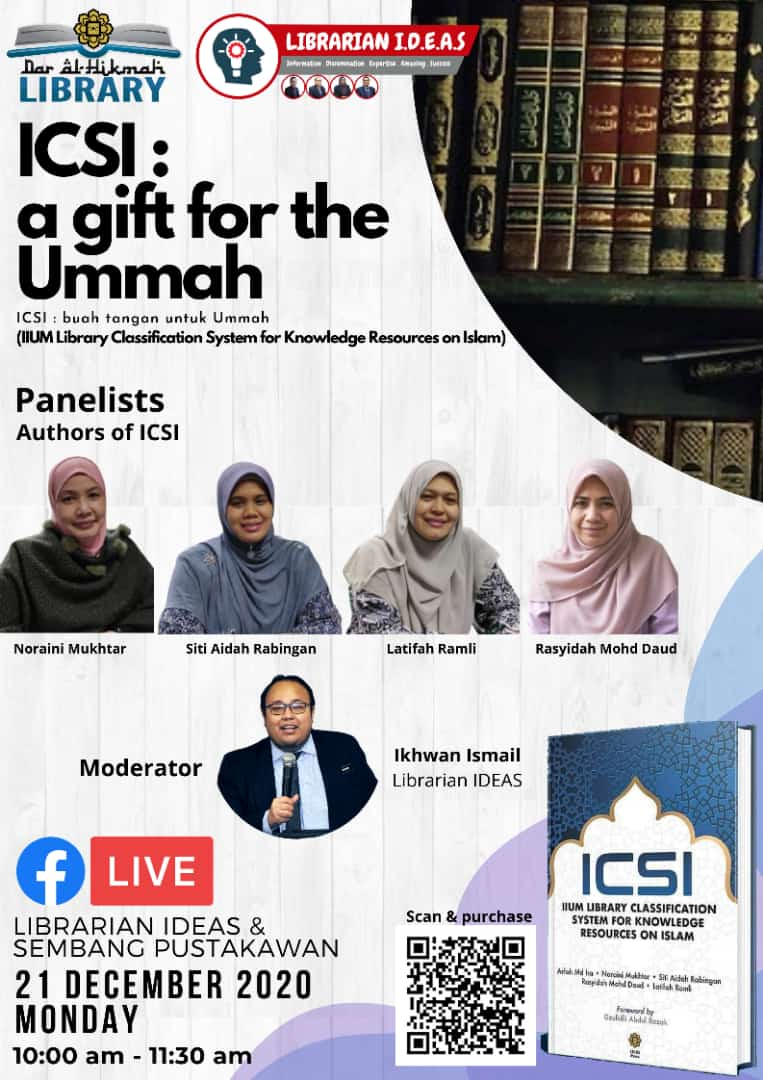 ICSI: A Gift for The Ummah