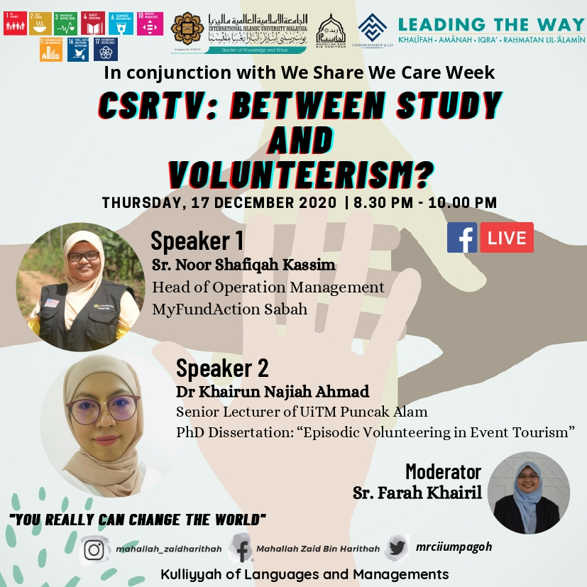 CSRTV : Between Study and Volunteerism