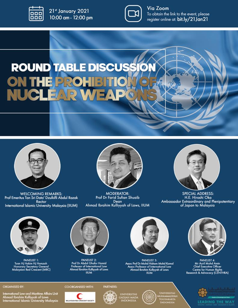 Roundtable Discussion : On the Prohibition of Nuclear Weapons