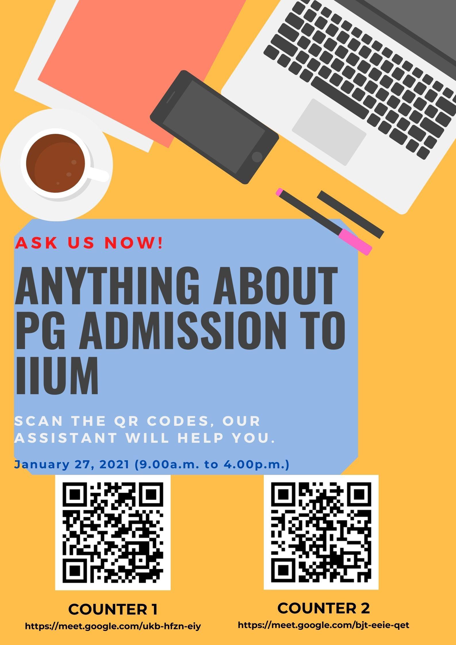 PG Admission Virtual Promotion
