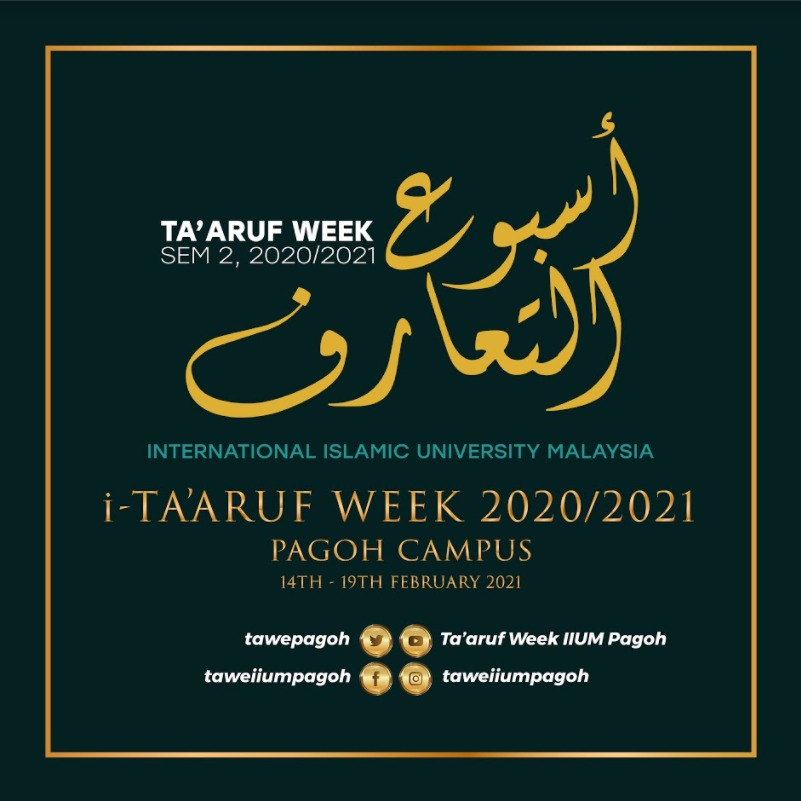 Ta'aruf Week Sem 2, 2020/2021