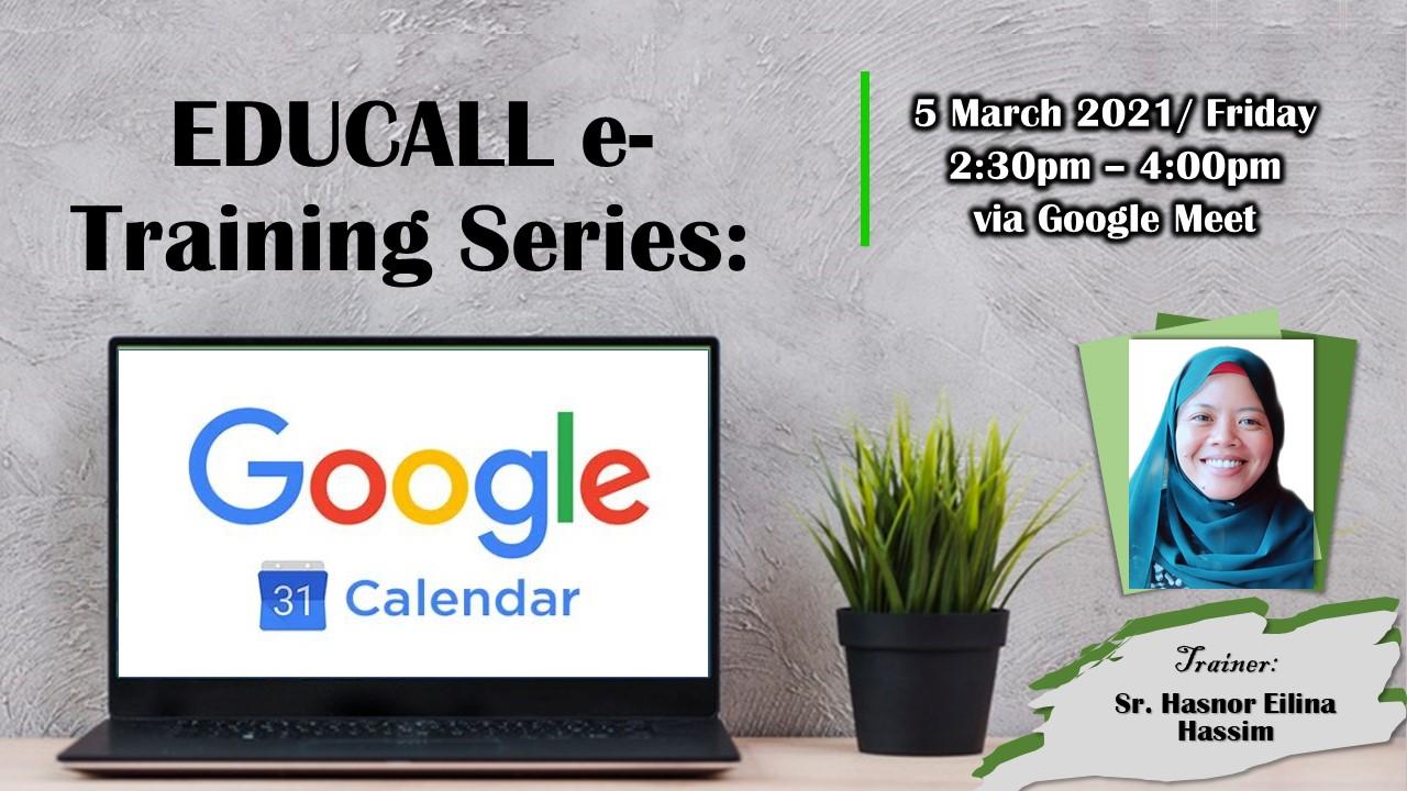 EDUCALL e-Training Series: Google Calendar