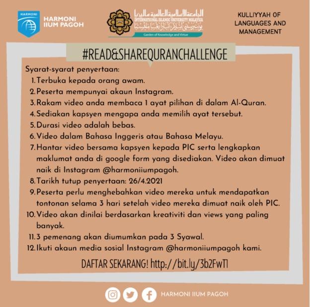 Read & Share Quran Challenge