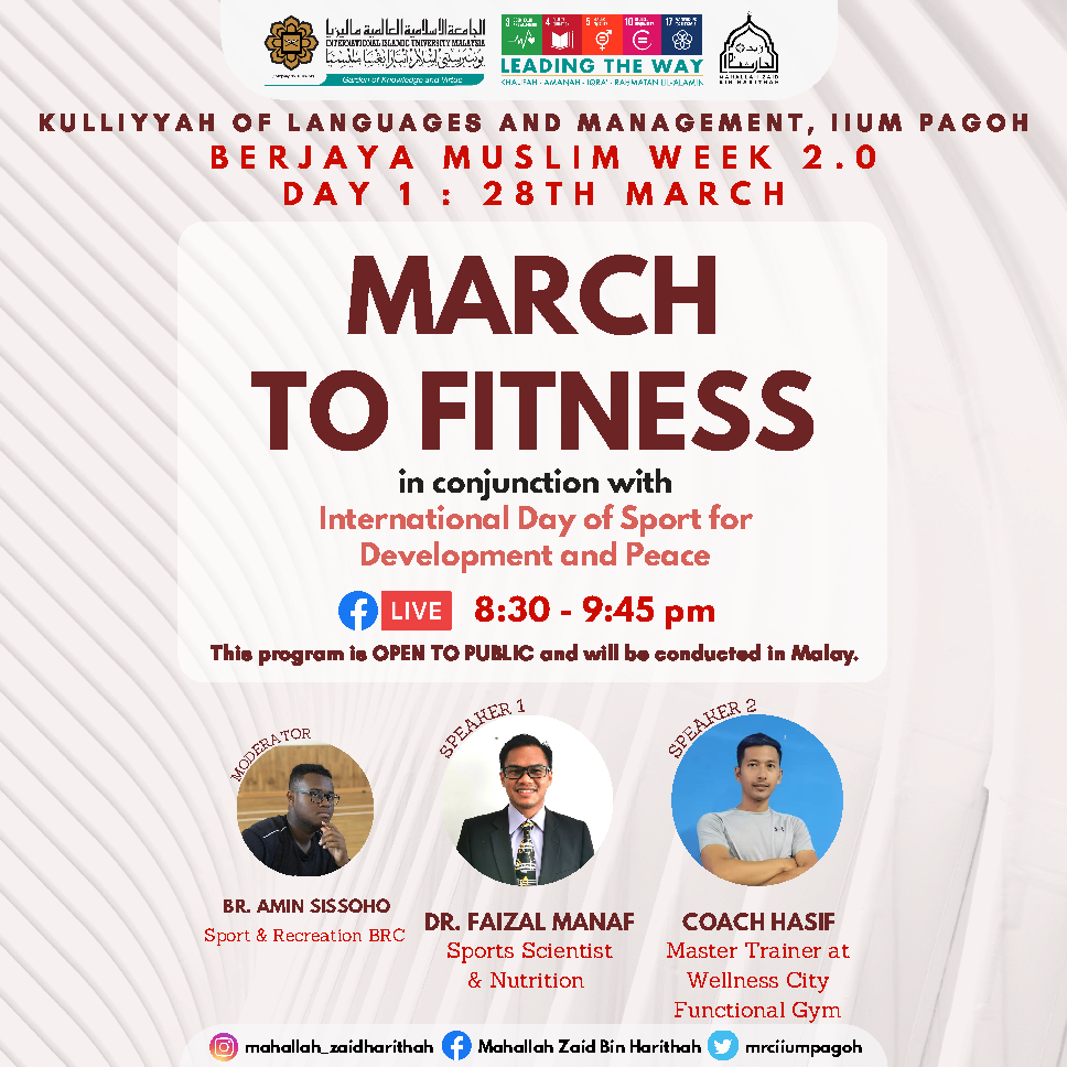 Berjaya Muslim Week 2.0 : March To Fitness