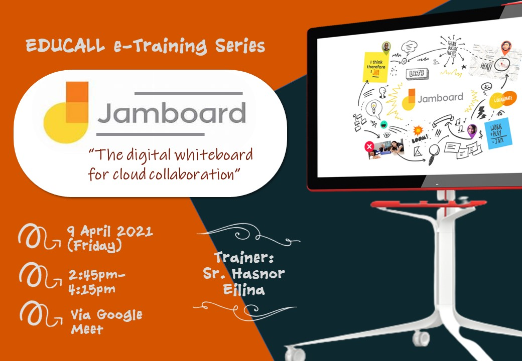 EDUCALL e-Training Series: Google Jamboard