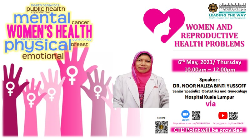 OSH Awareness campaign 2021: Women and Reproductive Health Problems