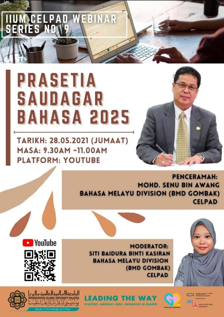 CELPAD Webinar Series #9: Prasetia Saudagar Bahasa 2025