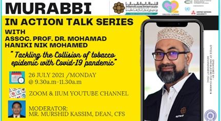 Murabbi in Action Talk: Assoc. Prof. Dr. Mohamad Haniki Nik Mohamed