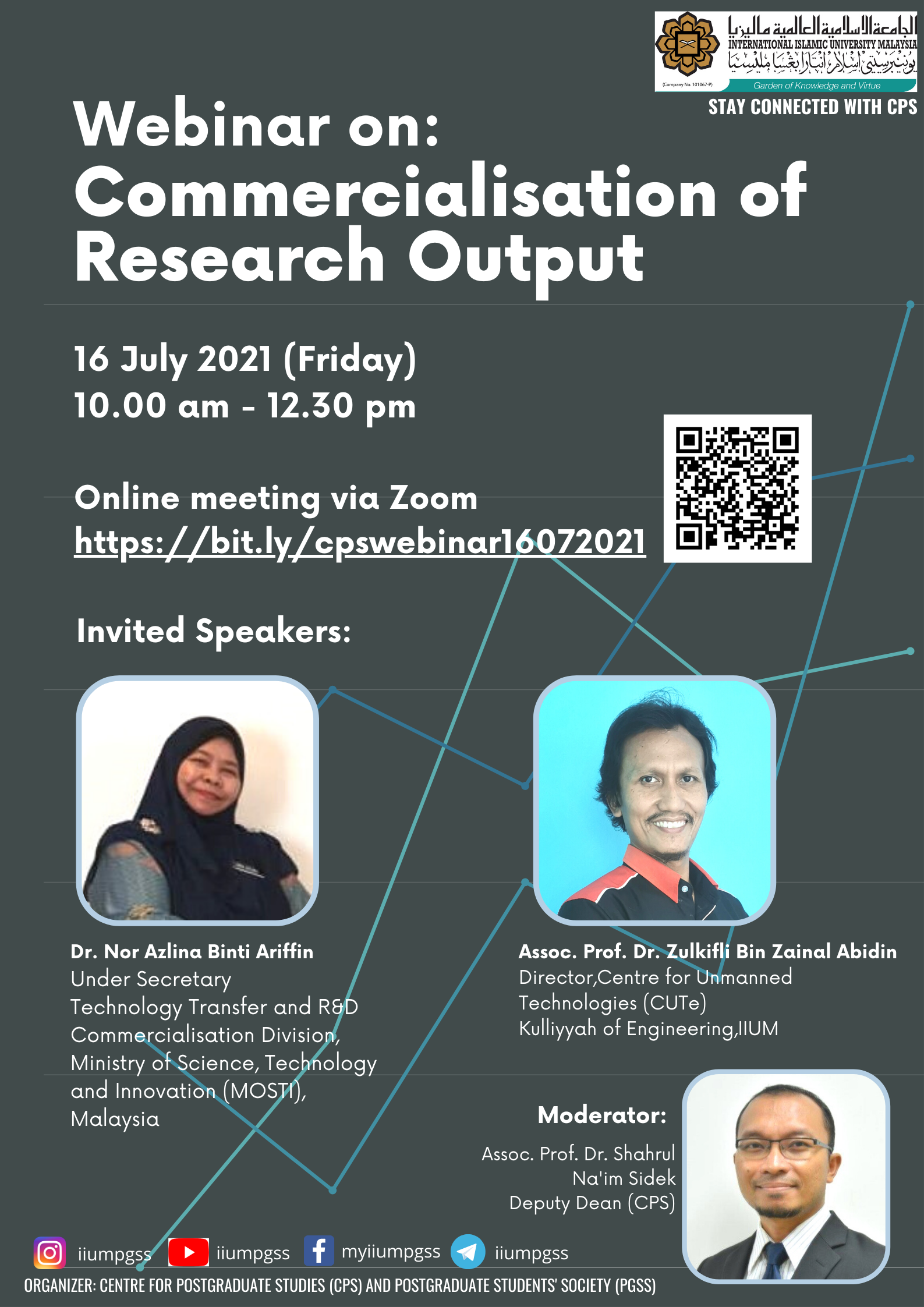 INVITATION TO ATTEND WEBINAR ON COMMERCIALISATION OF RESEARCH OUTPUT