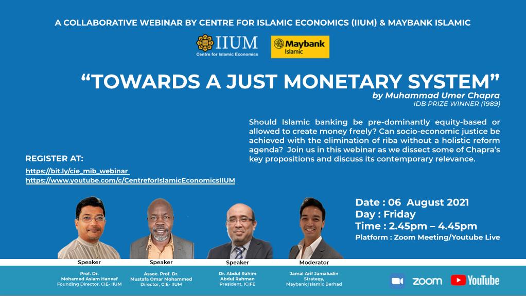 CONTRIBUTIONS TO CONTEMPORARY ISLAMIC ECONOMICS - MOVING FORWARD