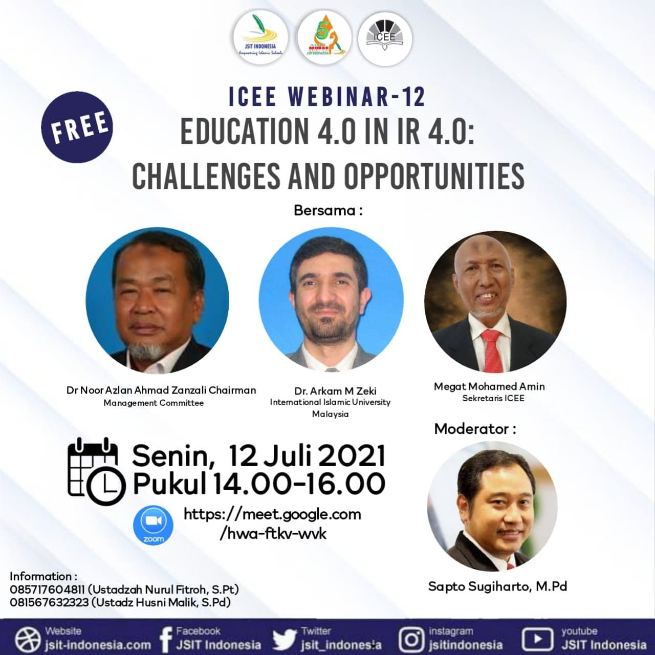EDUCATION 4.0 IN IR4.0:CHALLENGES AND OPPORTUNITIES