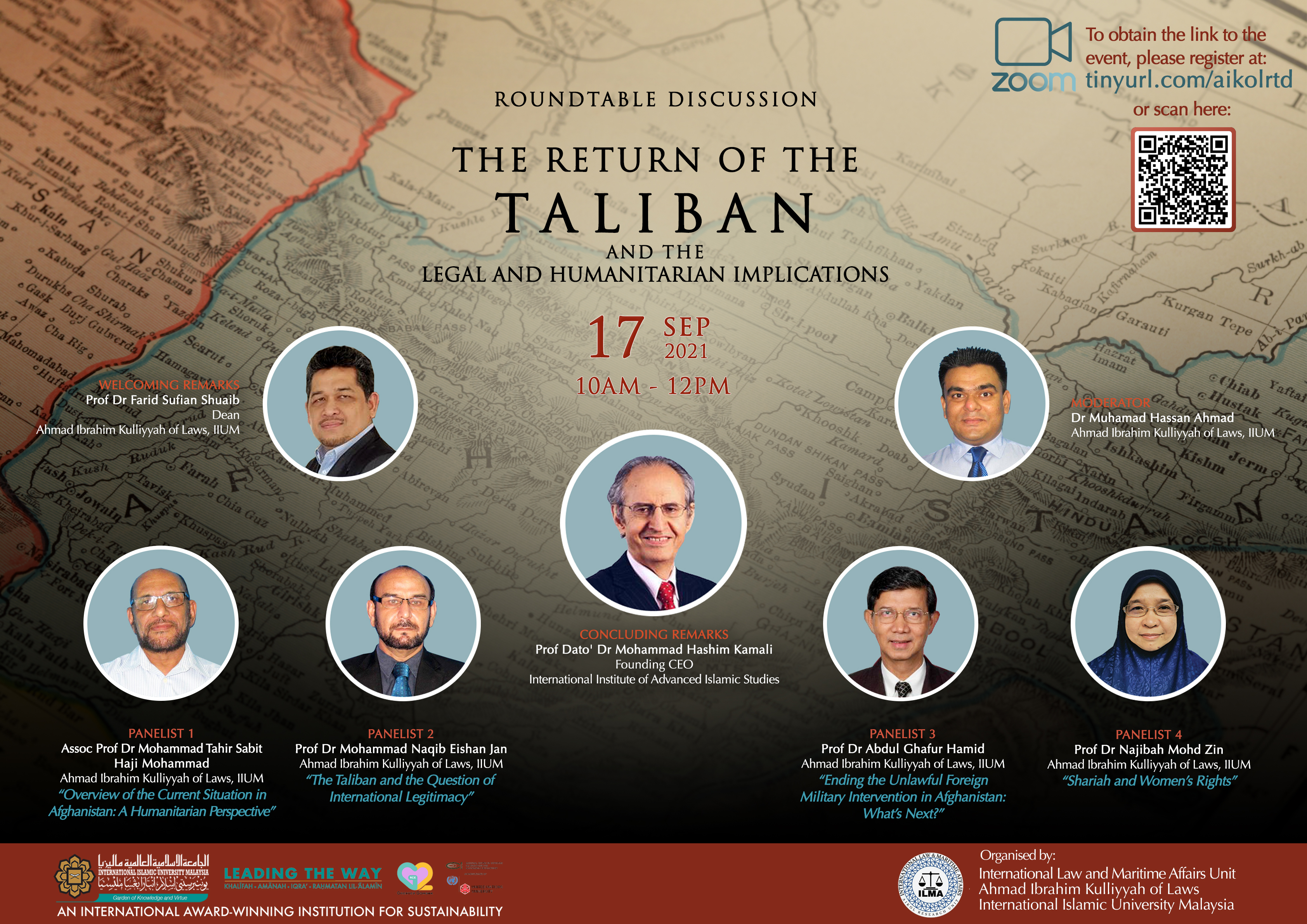 ROUNDTABLE DISCUSSION ON THE RETURN OF THE TALIBAN AND THE LEGAL AND HUMANITARIAN IMPLICATIONS