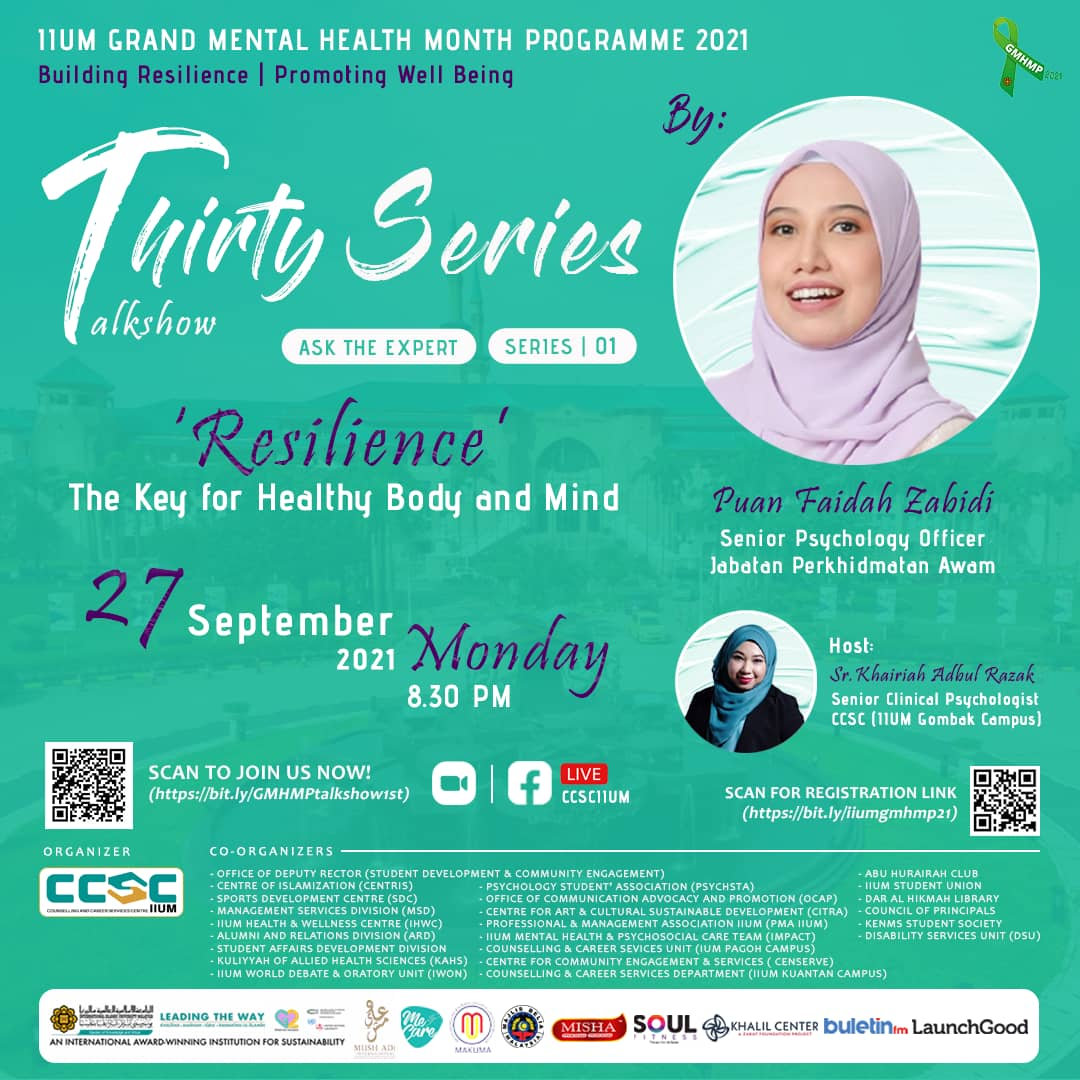 GMHMP 2021: THIRTY SERIES TALKSHOW [Ask the Expert: Series 01]