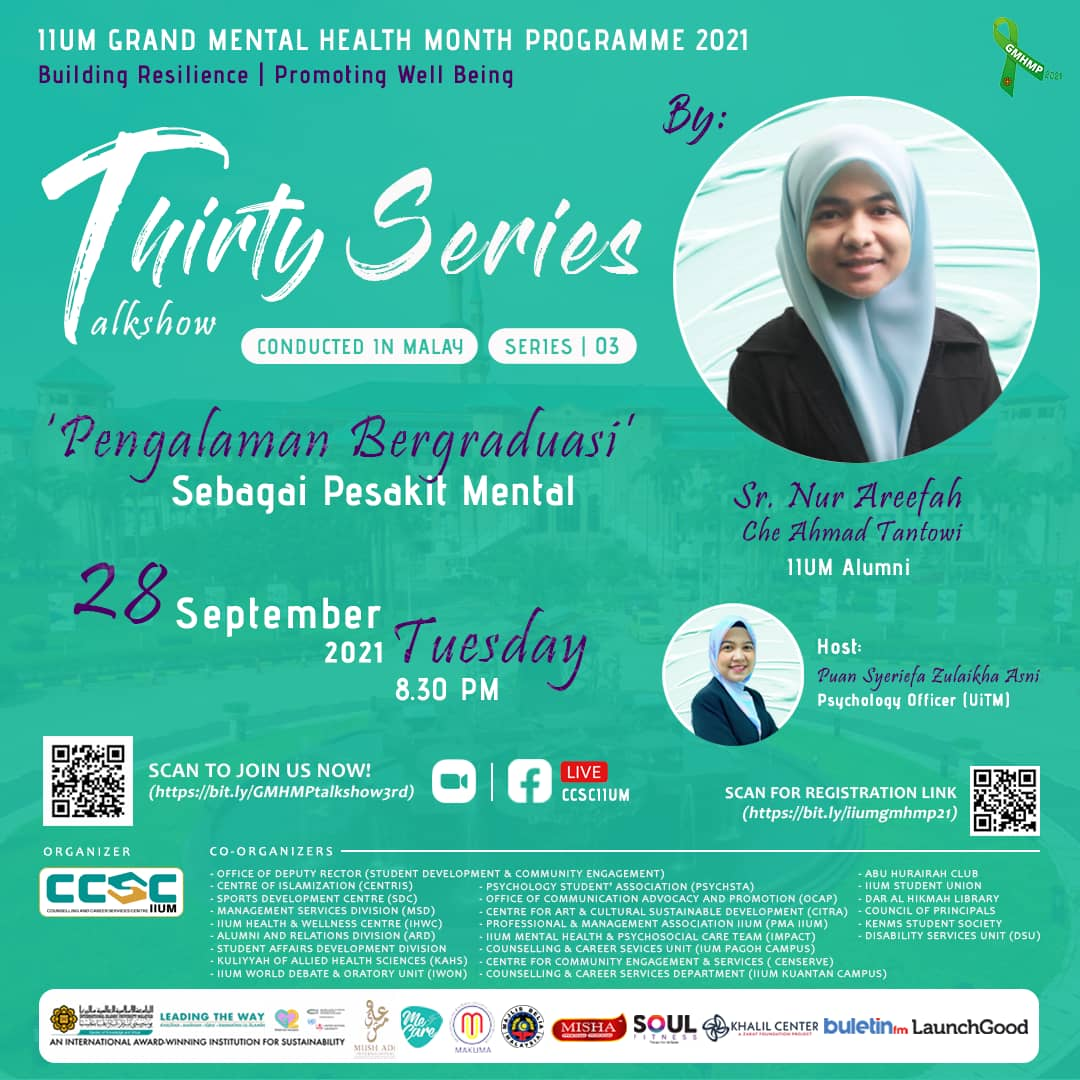   GMHMP 2021: THIRTY SERIES TALKSHOW [Ask the Expert: Series 03]