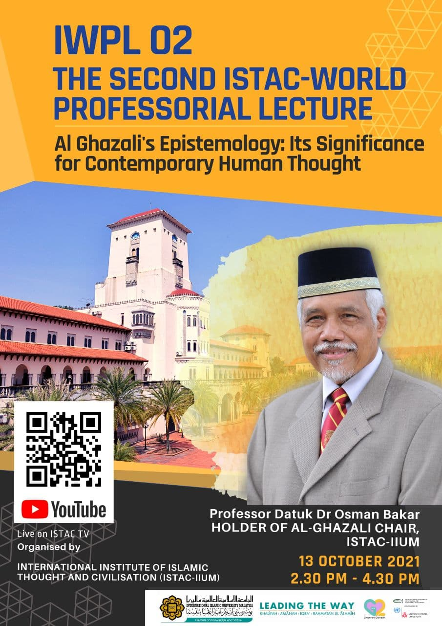 IWPL 02 - THE SECOND ISTAC-WORLD PROFESSORIAL LECTURE