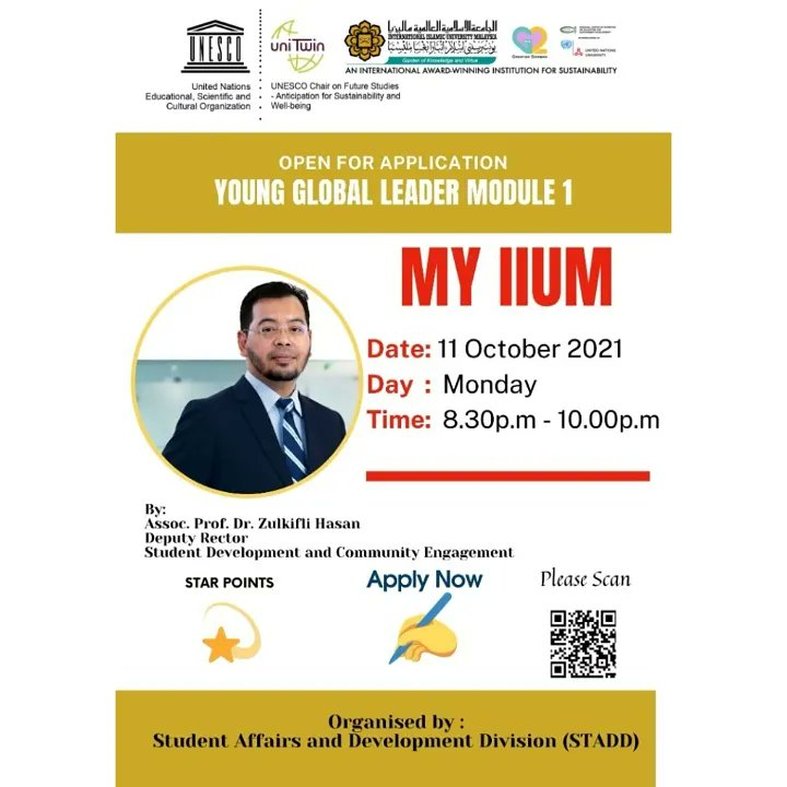 YOUNG GLOBAL LEADER PROGRAMME - MODULE 1