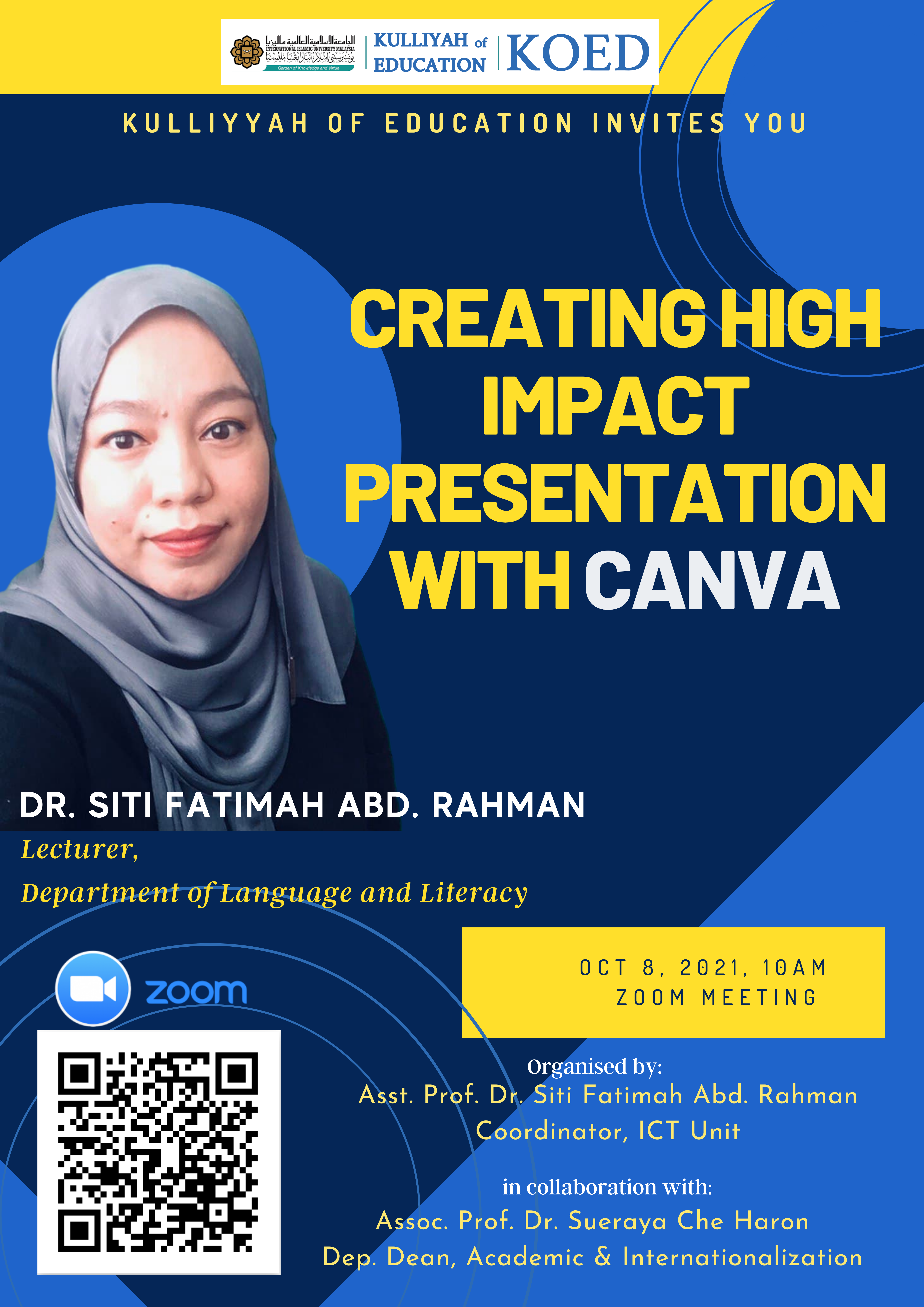 Creating High Impact Presentation With Canva