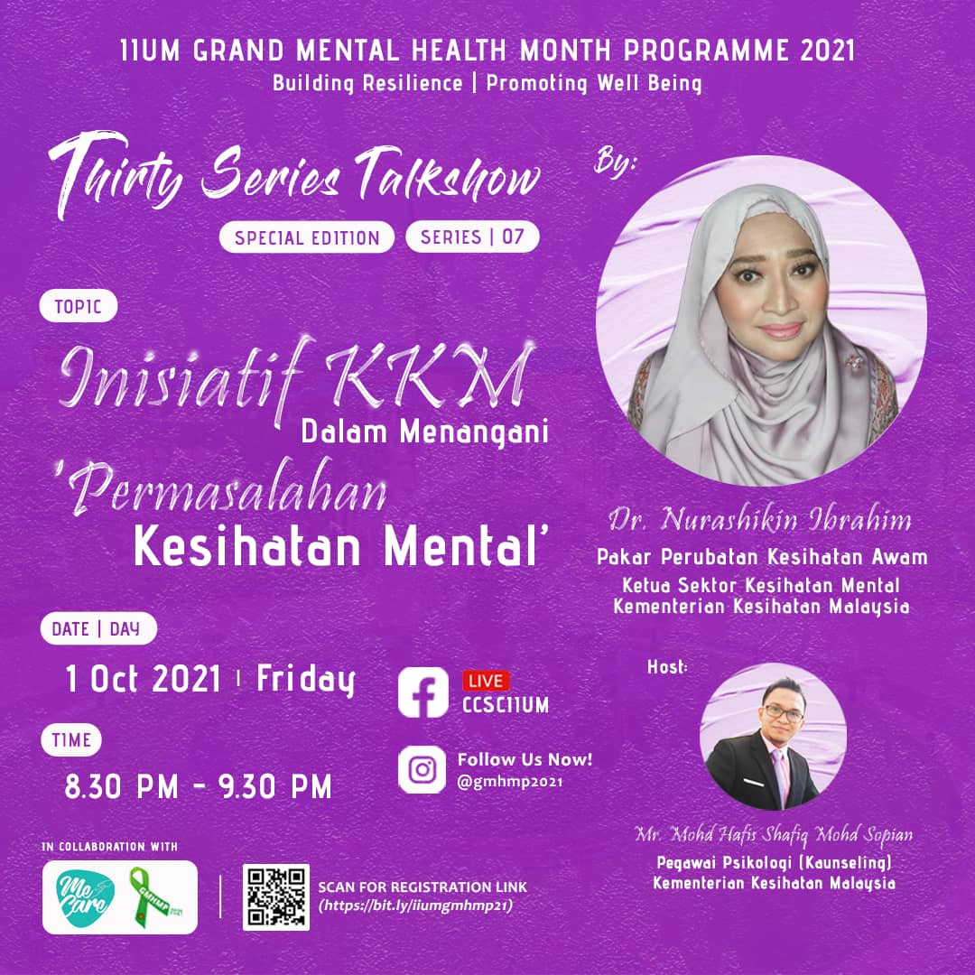 GMHMP 2021: THIRTY SERIES TALKSHOW [Ask the Expert: Series 07]
