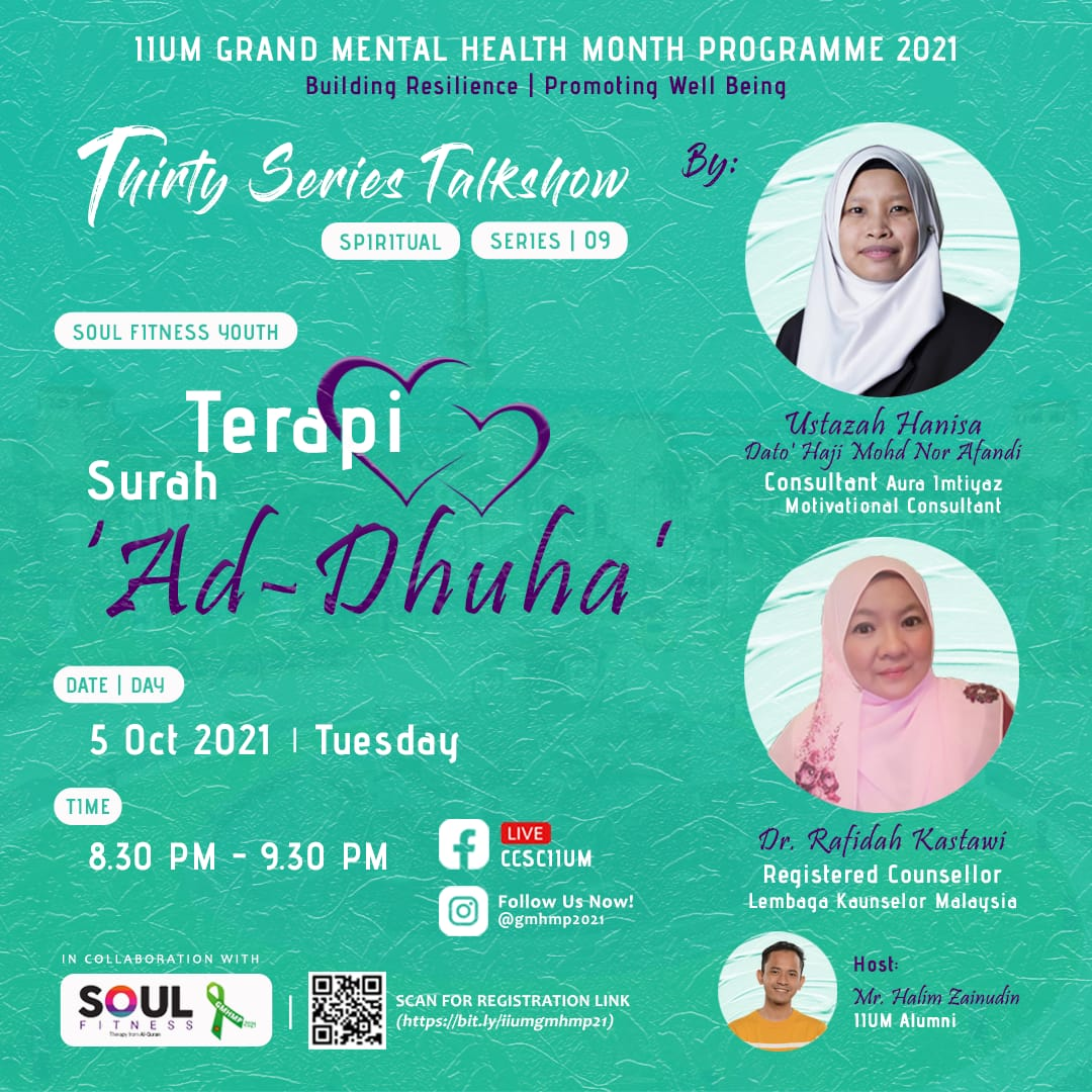 *GMHMP 2021: THIRTY SERIES TALKSHOW [Ask the Expert: Series 09]*