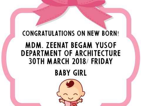 Congratulations on New Born