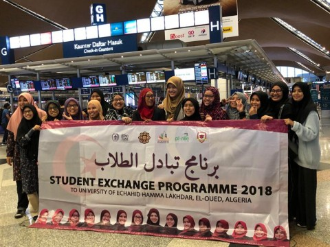 Exchange Program to University of  Echahid Hamma Lakhdar, El-Oued, Algeria