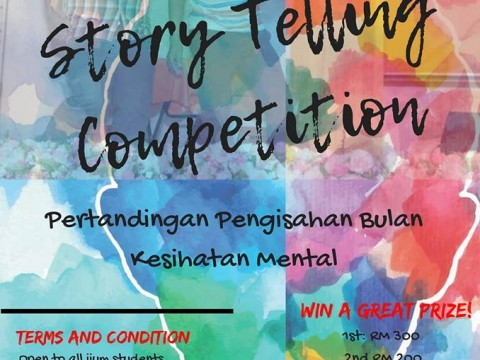 STORY TELLING COMPETITION 2018 #KNOW YOUR WORTH