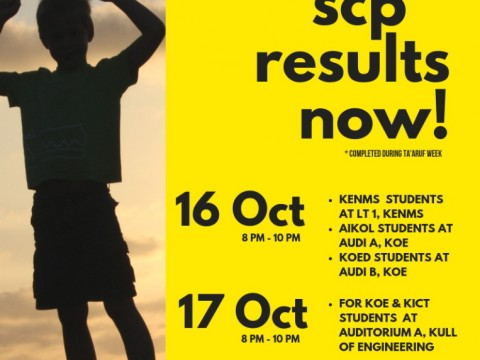 Get Your Student Career Profiling (SCP) result now!