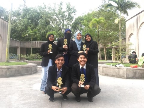Congratulations to Arabic Debaters from Kulliyyah of Languages and Management, IIUM Pagoh Edu Hub for Winning the IIUM Arabic Debate League Championship 2018