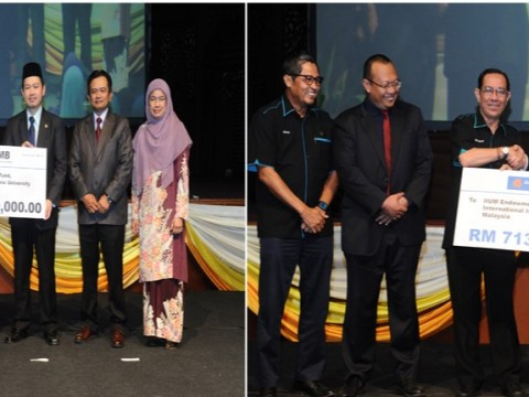 IIUM RECEIVED RM 1.7 MILLION CORPORATE ZAKAT FOR IIUM ENDOWMENT FUND