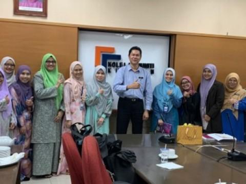EKSA Benchmarking to Kolej Komuniti Kuantan, Kementerian Pendidikan Malaysia