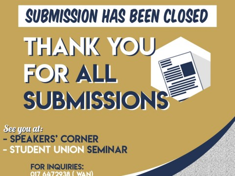 END OF SUBMISSION DATE - PROPOSAL FOR STUDENT UNION
