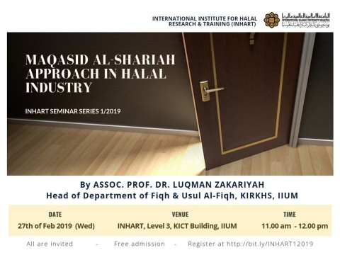 INHART SEMINAR SERIES 1, 2019