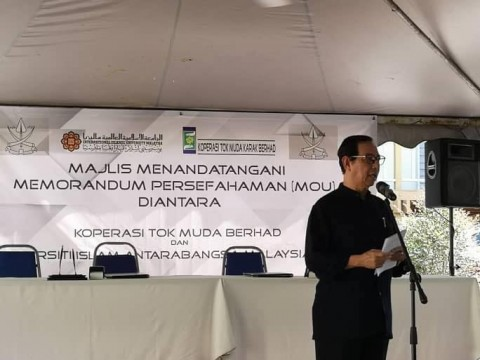 MOU between Koperasi Tok Muda Berhad with Department of Plant Science IIUM