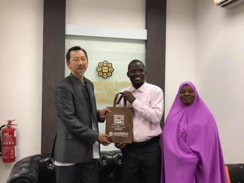 Officials of the Halal Certification Authority (HCA) Nigeria