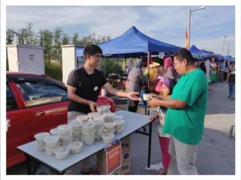 IIUM Pagoh: Majlis Penyerahan Bubur Lambuk Unites The Community of Pagoh