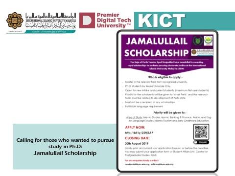Jamalullail Scholarship
