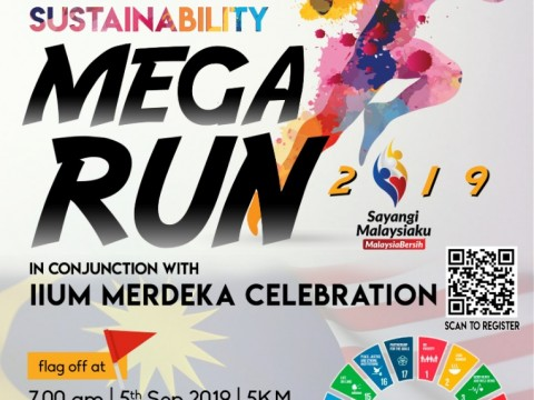 INVITATION TO PARTICIPATE IN IIUM SUSTAINABILITY MEGA RUN 2019