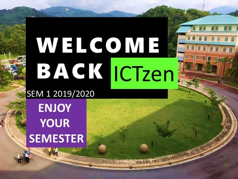 Welcome Back ICTzen