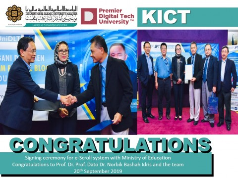 Congratulations Prof. Dato Dr. Norbik Bashah Idris and the team