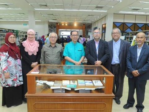 Launching of National Laureate Muhammad Haji Salleh Exhibition